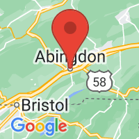 Map of ABINGDON VA US