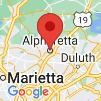 Map of ALPHARETTA GA US