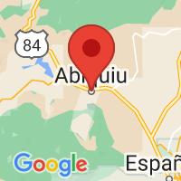 Map of Abiquiu, NM