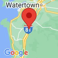 Map of Adams, NY