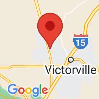 Map of Adelanto, CA