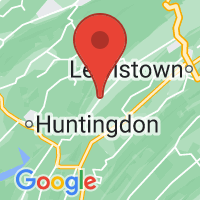 Map of Allensville, PA