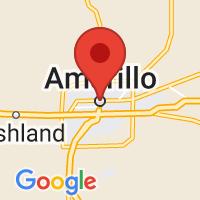 Map of Amarillo, TX US