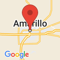 Map of Amarillo, TX