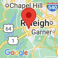 Map of Apex, NC US