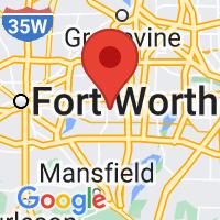 Map of Arlington TX US