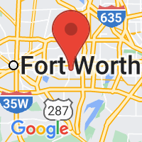 Map of Arlington, TX US