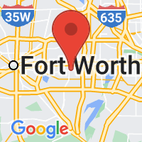 Map of Arlington, TX