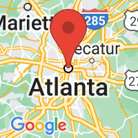Map of Atlanta Northeast, GA US