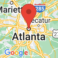Map of Atlanta, GA US
