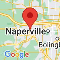 Map of Aurora, IL US