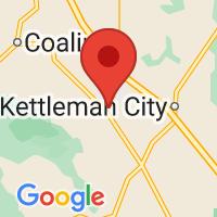 Map of Avenal, CA