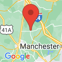 Map of BELL BUCKLE TN US