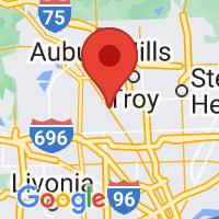 Map of BIRMINGHAM MI US