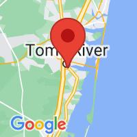 Map of Beachwood NJ US