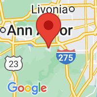 Map of Belleville MI US