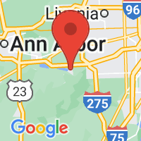 Map of Belleville, MI US