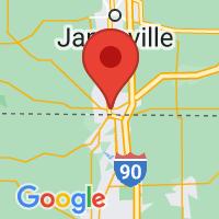 Map of Beloit, WI US
