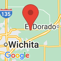 Map of Benton, KS US
