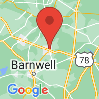 Map of Blackville, SC