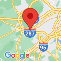 Map of Bound Brook, NJ