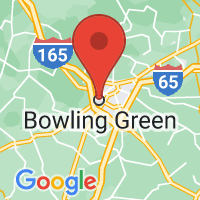 Map of Bowling Green, KY US