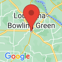 Map of Bowling Green, MO
