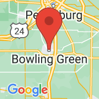 Map of Bowling Green, OH