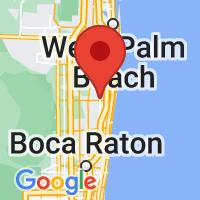 Map of Boynton Beach, FL US