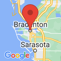 Map of Bradenton FL US
