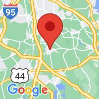 Map of Bridgewater MA US