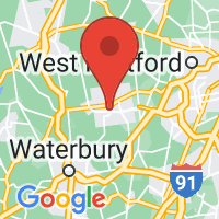 Map of Bristol, CT