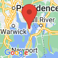 Map of Bristol, RI