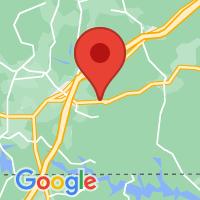 Map of Brodnax, VA