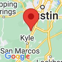 Map of Buda, TX US