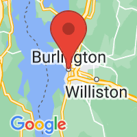 Map of Burlington VT US