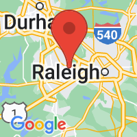 Map of CARY NC US