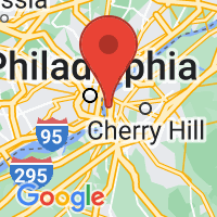Map of Camden, NJ