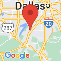 Map of Cedar Hill TX US