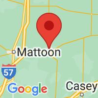 Map of Charleston IL US