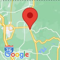 Map of Chatsworth, GA US