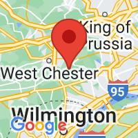 Map of Cheyney, PA