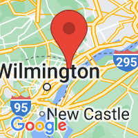 Map of Claymont DE US