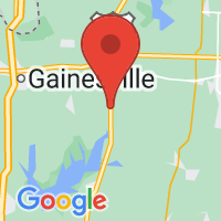 Map of Collinsville, TX