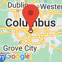 Map of Columbus, OH US