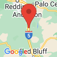 Map of Cottonwood, CA US