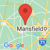 Map of Crestline, OH