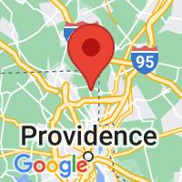 Map of Cumberland, RI