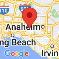 Map of Cypress, CA US