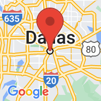 Map of DALLAS TX US